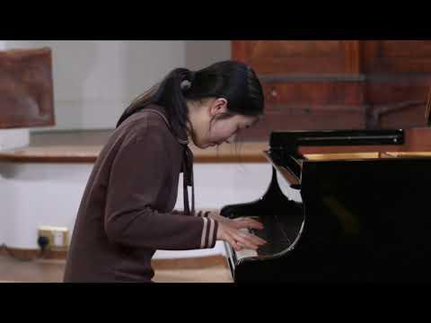 Lauren Zhang plays Beethoven's Symphony  no 9 in D minor, op 125 (piano transcription, Franz Liszt)