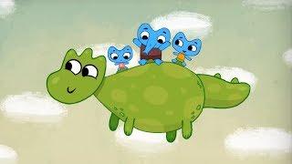 Мультфильмы для Малышей - Котики, вперёд! - Слонокот (3 серия)