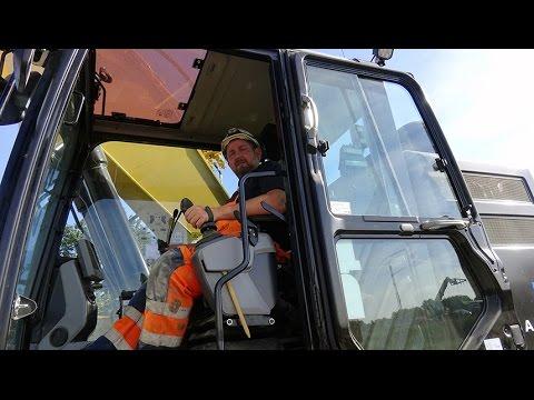 Cat 335F kompakt gravemaskine øger sikkerheden for Aarsleff