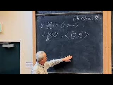 Oxford Lecture 05 Further TDSE and the Position Representation
