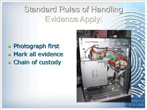 Information Systems Security Special Topic Webinar: Computer Forensics (3/15/2013)
