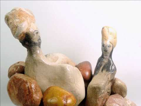 Abstract stone sculptures  by Lea P. Stone.