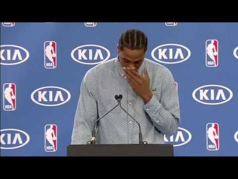 Kawhi Leonard Wins Defensive Player of the Year Award - April 23, 2015   NBA 2014 15 Season