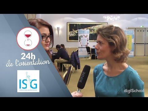 Découvrez ISG business & management | Les 24h de l'Orientation