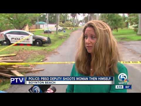 PBSO deputy shot woman, killed himself, Boynton Beach police say