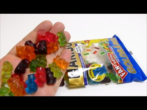 NEW Blue HARIBO Gold Bears - Candy from Germany - FAN Edition