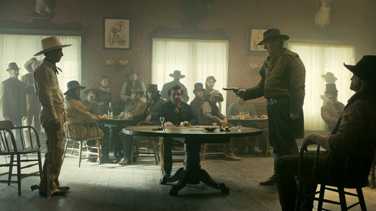 Ballad of Buster Scruggs - Saloon scene - YouTube
