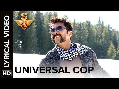 Universal Cop | Lyrical Video | S3 | Suriya, Anushka Shetty, Shruti Haasan