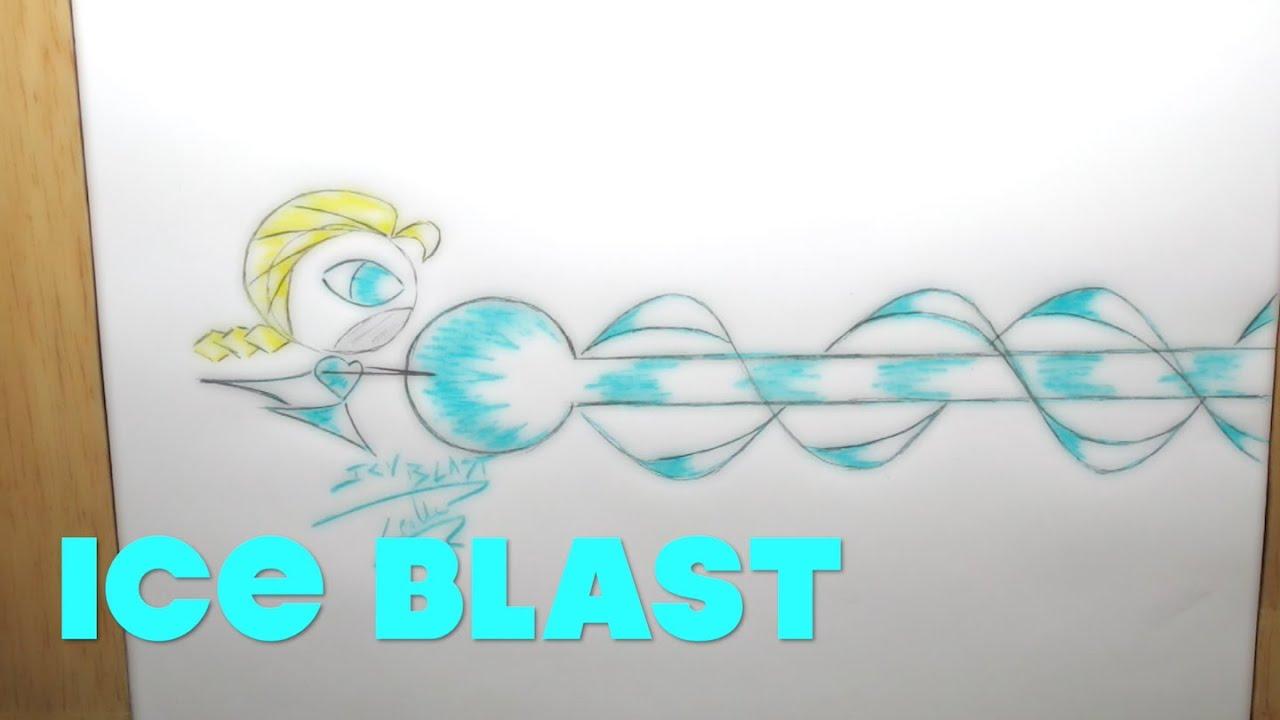 Easy to Draw Popular Elsa Icy Blast Disney Frozen - Lana3LW - YouTube