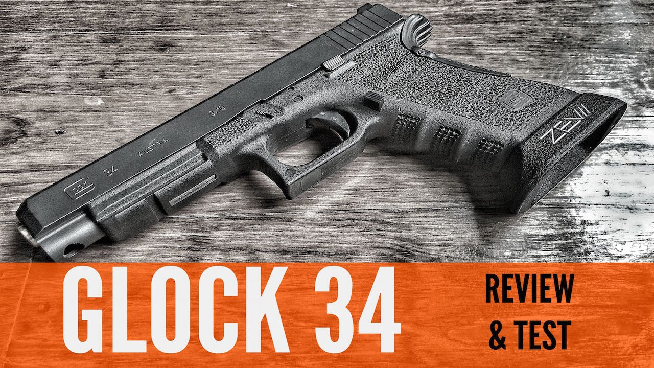 is the glock 34 the best glock ever   review and range test