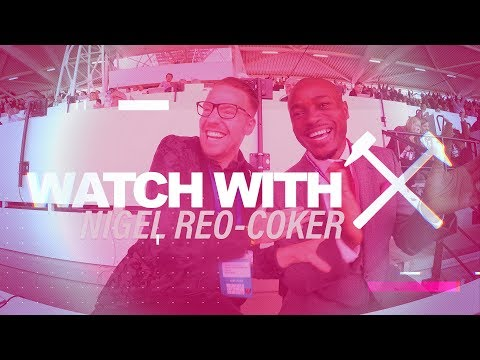 WATCH WITH | NIGEL REO-COKER CAN'T STOP SMILING AFTER WE DEFEAT MANCHESTER UNITED