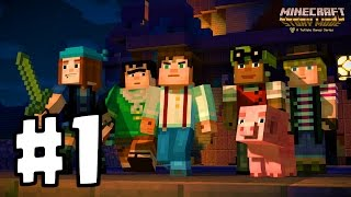 Minecraft: Story Mode Part 1 | TRAINING TO BE LEGENDARY!! | Minecraft For IOS/Android!!