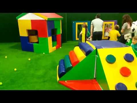 Хлоп Топ. Детский праздник. Детская игровая зона. Мистер Саня попробовал все.