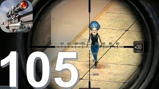 Sniper 3D Gun Shooter: Free Elite Shooting Games - Gameplay Walkthrough Part 105 (Android, iOS)