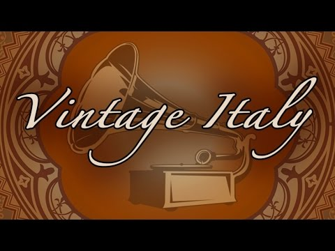 """Various Artists - """"Vintage Italian Voices"""" - the charming style of the 20's, 30's and 40's"""