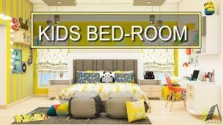 Modern Kids Bedroom Interior Design Ideas 2018 | Ceiling DIY Entrance Decor | Plasma Wall Decor