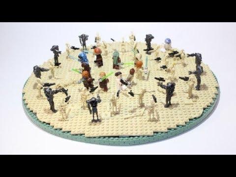 Lego Star Wars Geonosis Arena Moc Youtube