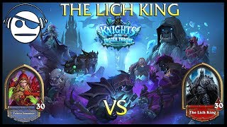 Hearthstone | Knights of the Frozen Throne | The Lich King Vs Rogue