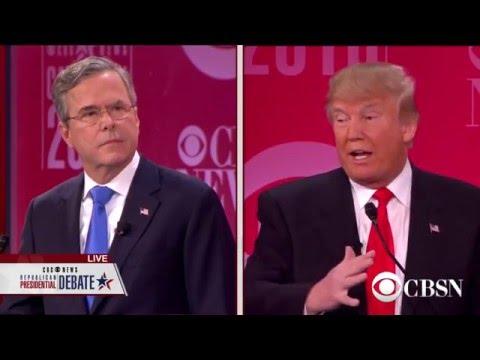 Donald Trump vs. Jeb Bush on 911, Iraq