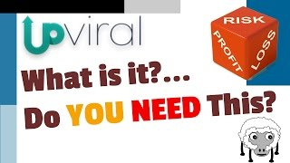 Upviral Review - OMG What is Upviral? - Viral Referral Marketing - Upviral Bonus