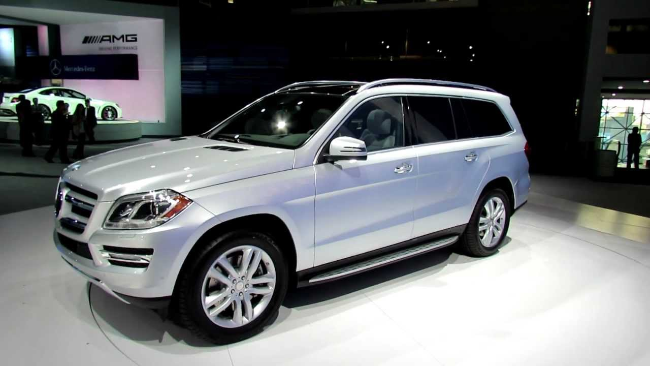 2013 Mercedes Benz GL450 4Matic Exterior And Interior At 2012 New York  International Auto Show   YouTube