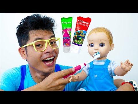 Brush Your Teeth Song Nursery Rhymes for Kids #4