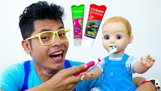 Brush Your Teeth Song Nursery Rhymes for Kids #4