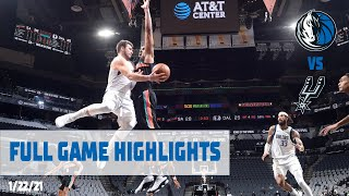 Luka Doncic (36 points) Highlights vs. San Antonio Spurs