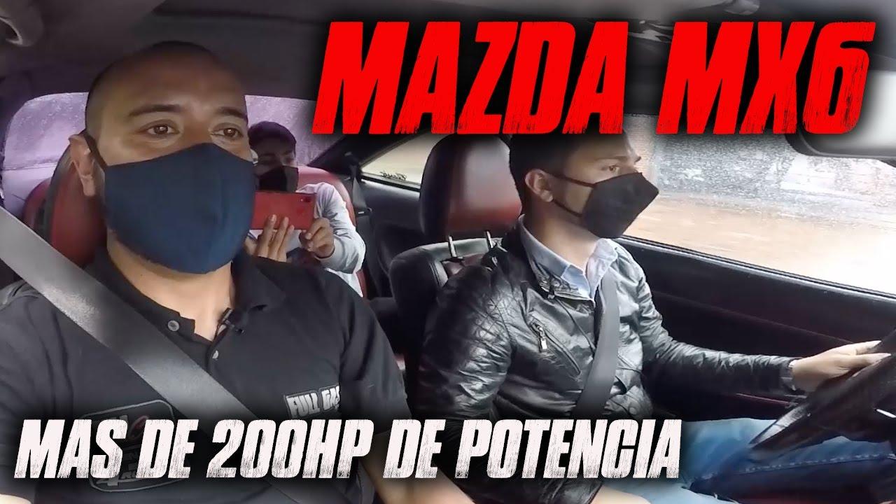 MAZDA MX6 MAS DE 200HP DE POTENCIA
