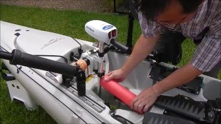 kayak trolling motor hobie edition must see video