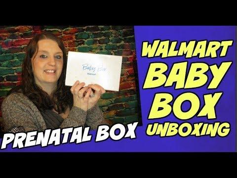 Walmart Baby Box Prenatal Unboxing 2019 Youtube