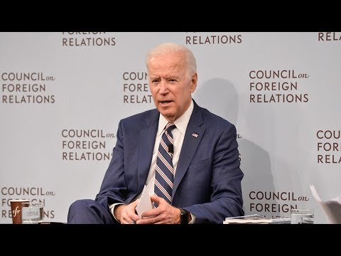 Foreign Affairs Issue Launch With Joe Biden