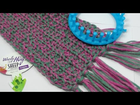 Strickring – Loom Knit – PRYM – Schal – Veronika Hug
