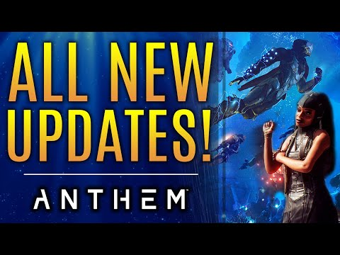 Anthem - New Updates!  What's Happening With April Update and Sunken Stronghold?