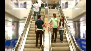 Hand touching on escalator prank ll Prank In Bangladesh ll Shajib Khan