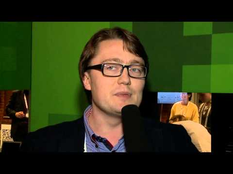 TechCrunch Moscow 2012 Interview with Alexander Minza, co-founder & CEO of AdEasy