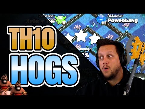 clash-of-clans:-this-hog-army-is-working-great-at-th10