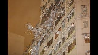 【颱風山竹・災情更新】日出康城爆玻璃 城門河滿瀉「明日之後」