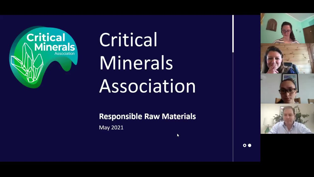 Jeff Townsend & Kirsty Benham - Critical Minerals as a driver for Sustainable Development