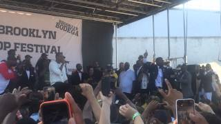 "Jay Electronica & Jay Z ""We Made It"" (Live in Brooklyn)"