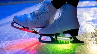 Лучший каток в Москве -  Парк горького  ( Gorky Park, Moscow winter skating rink )