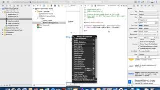 كيفية إنشاء النافذة المنبثقة باستخدام الهدف-c