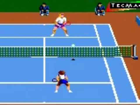 Andre Agassi Tennis [Game Gear]