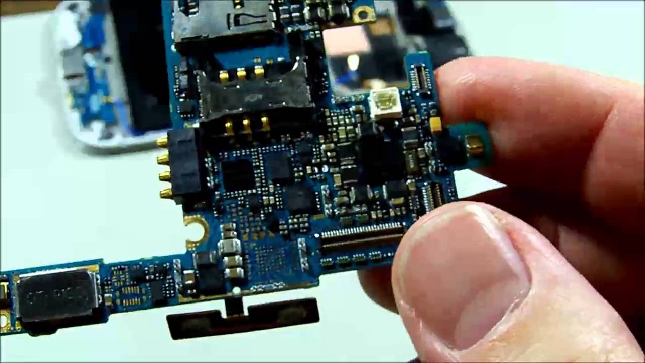 Dead Samsung Galaxy S4 Repair Youtube Mobile Phone Circuit Board Logos Serials