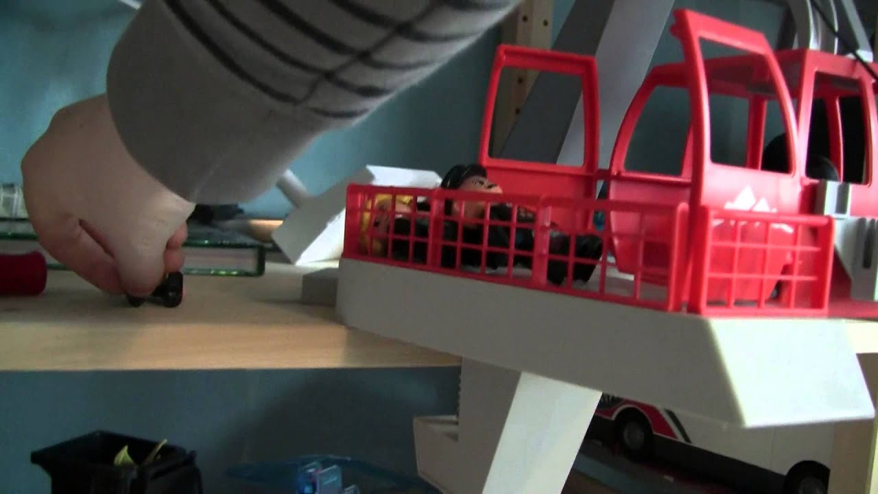 playmobil seilbahn 5426 mit selbst gebautem elektro antrieb youtube. Black Bedroom Furniture Sets. Home Design Ideas