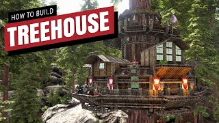 How To Build A Treehouse V2 | Ark Survival Evolved