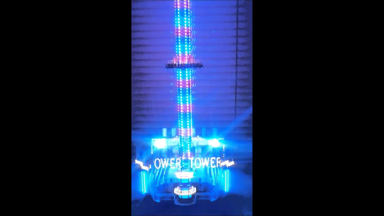 faller power tower 1 87 mit rgb led beleuchtung youtube. Black Bedroom Furniture Sets. Home Design Ideas