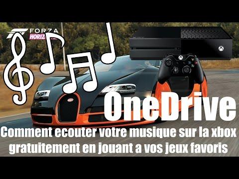 Comment ecouter sa musique sur la xbox avec One Drive