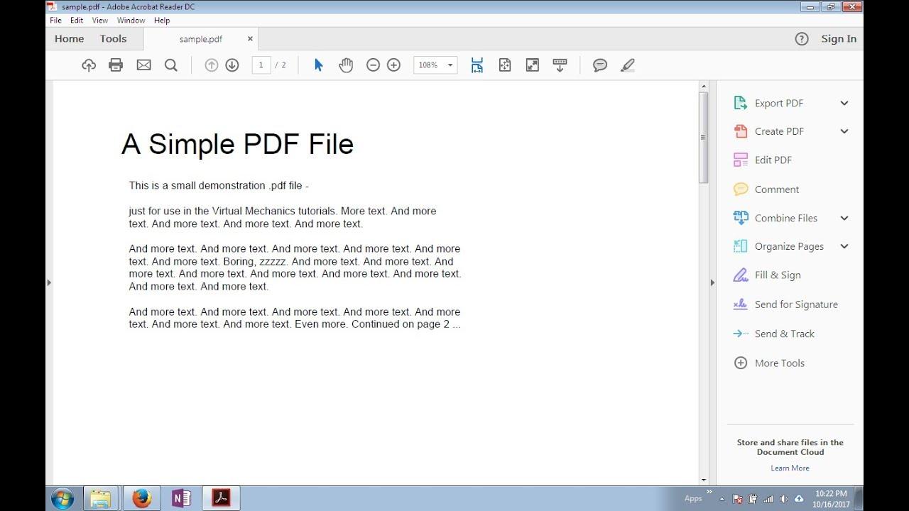 Disable Adobe Reader Tool Pane - YouTube