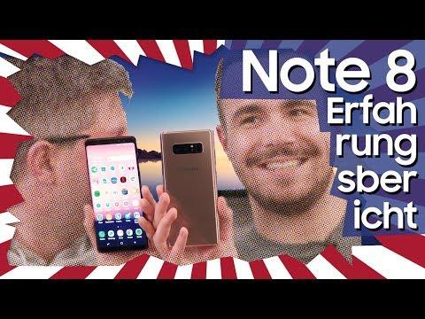 Samsung Galaxy Note 8: Unser Erfahrungsbericht (Deutsch)